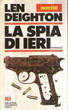 X13 La spia di ieri Deighton BUR Rizzoli 1985