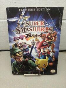 Prima Official Game Guide Super Smash Bros Brawl Game Guide Nintendo Authentic
