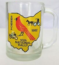 1982 BMW MOA Cup 10th National Rally Motorcycle Owners Club Shreve Ohio GLASS