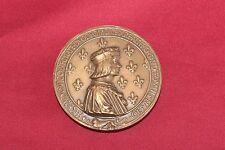 Medaglia Medal 1499 FELICE LUDOVICO DECIMO ANNA REGNANTE RIPRODUZIONE BRONZO