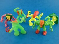 Retro 1990's Mini Figures Bundle MONSTER IN MY POCKET Super Scary Lot x 6