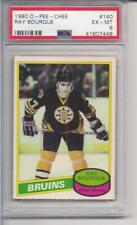 Ray Bourque 1980 OPC O-Pee-Chee Rookie RC #140 PSA Graded EX-MT 6 FS1058
