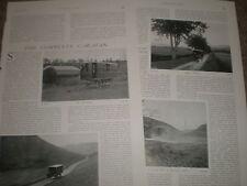 Photo article the complete caravan 1906 ref U