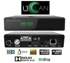 Decoder Linux Uclan Denys Pro+ Combo Multistream Hevc H.265 Compatibile Tivusat