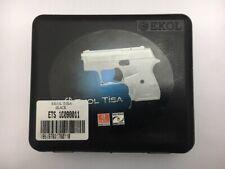 Ekol Tisa 8mm Shiny Crome-MOVIE-FILM-PROP-REPLICA-GUN-TRAINING