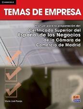 Temas de Empresa by María José Pareja López (2014, Paperback)