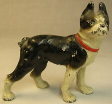 1920s/30s Cast Metal – Painted BULLDOG  Figure – Paperweight maybe