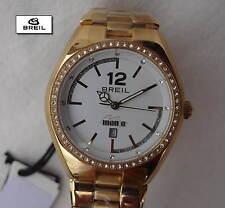 Breil Damenuhr gold mit Swarovski TW1354 Gliederarmband golden