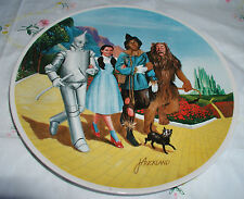 """""""The Grand Finale"""" Plate Wizard Of Oz We'Re Off To See The Wizard 10"""""""