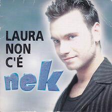 CD CARTONNE CARDSLEEVE NEK LAURA NON C'E 2T 1997