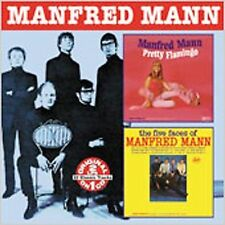 MANFRED MANN Pretty Flamingo & The Five Faces Of...  New Sealed CD Collectables