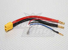 New XT60 plug Harness for 2S Hardcase Lipo Connector Wire battery US XT-60