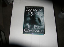 The Paid Companion by Amanda Quick (2004, Hardcover) SIGNED 1st/1st