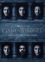 GAME OF THRONES: Season 6 The Complete Sixth Season DVD Region 2 UK Free Postage
