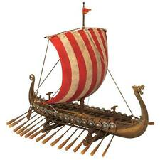 Drekar The Viking Longship Collectible Museum Replica Design Toscano Ship Model