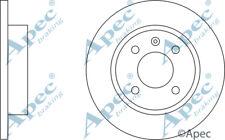 FRONT BRAKE DISCS (PAIR) FOR SKODA FAVORIT FORMAN GENUINE APEC DSK139