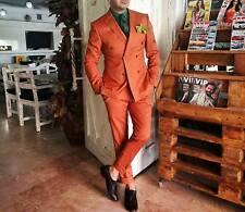 Men Designer Wedding Groom Tuxedo Double Breasted Dinner Suit Coat Jacket Blazer