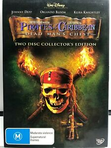 Pirates of the Caribbean - Dead Mans Chest - 2 DVD Set - AusPost with Tracking
