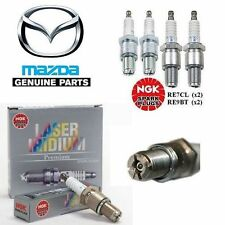 NGK SPARK PLUGS FIT MAZDA RX8 LEADING & TRAILING FULL SET OF 4