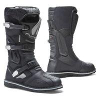 Forma TERRA EVO waterproof black adventure dual-sport adv motorcycle boots