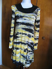 Kensie women's black marigold combo lined dress size XSmall NWT