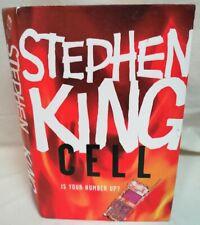 BOOK - *1st Ed* Stephen King Cell Hardback W/ D/J Hodder Horror Zombie Fiction