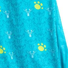 Stitch Infinity Scarf Paw Print Double Cloth Disney Lilo & Stitch Limited
