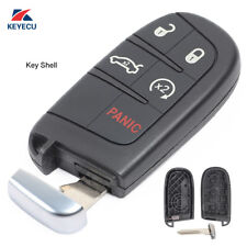 New  Replacement Shell Smart Remote Key Case 5 Button for 2012-2014 Chrysler 300