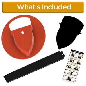 Mousetrap Slide Bucket Lid Mouse Rat Trap Flip N Slide Mouse Trap Catcher