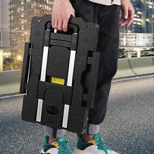 Aluminum Alloy Car Folding Luggage Cart Portable Travel Trailer Household Luggag