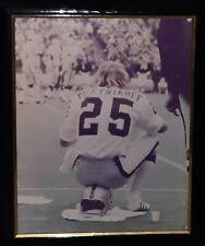 "RARE 20""x16"" FRED BILETNIKOFF Oakland Raiders Photo Poster wo/Frame Circa 70s EC"