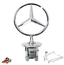 Motorhaube Emblem Mercedes Stern für Mercedes-Benz S-Klasse E C CLK CLK220 CL