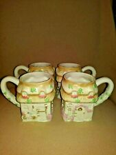 A set of 4 Lenox Irish Blessing Mugs   2005 Fine Ivory China