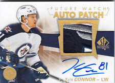 2016-17 UD SP AUTHENTIC KYLE CONNOR RC /100 AUTO PATCH FUTURE WATCH #157