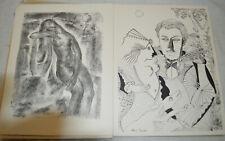 Léon Vérane Poémes 16 lithographies signatures numeroté Tamari Baboulene Pertus