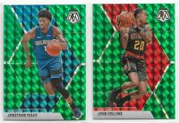 2019-20 Panini Mosaic Basketball GREEN Prizm - Complete Your Set You Pick!