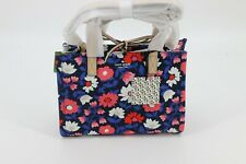 Kate Spade New York Washington Square Floral Sam Satchel Bag Rich Navy Multi