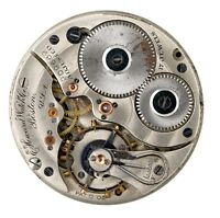 E HOWARD WATCH CO BOSTON USA POCKET WATCH MOVEMENT SPARES & REPAIRS Q66