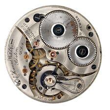 Reloj de Bolsillo e Howard Watch Co Boston EE. UU. Movimiento Repuestos & Reparaciones Q66
