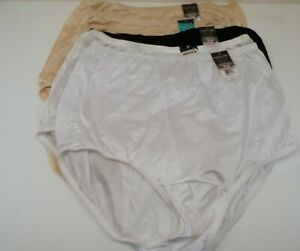 Vanity Fair Women's *6 Pack* 15712 Tailored Nylon Brief Panty Multi 6/M
