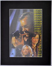 24 TV CAST Keifer Sutherland PROFESSIONALLY MATTED PRINT Frame Ready