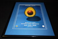 Pearl Jam 2006 Framed 11x14 ORIGINAL Vintage Advertisement World Wide Suicide