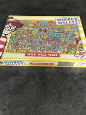 Where's Wally - Wild Wild West 1000 Piece Puzzle - Still Sealed