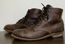 New listing Wolverine 1000 Mile Men's Leather Boots W05301 Brown Size 9D Free Ship Rare Worn