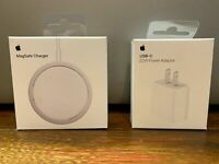 Apple - MagSafe iPhone Charger 2020 + 20W Apple Adapter