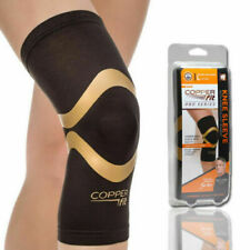 New Copper Fit Pro Series Performance Compression Knee Sleeve Brace L
