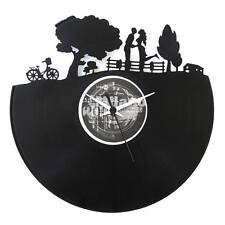 Vinyl Record Clock - Spring