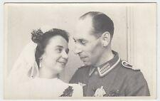 (F1030+) Orig. Foto Wehrmacht-Soldat, Hochzeit, 1940er