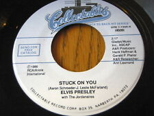 """Elvis Presley-Stuck On You/FAME AND FORTUNE 7"""" vinyle"""