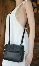 GUCCI~Ophidia Black Leather Crossbody Mini Supreme messenger gold square GG Bag
